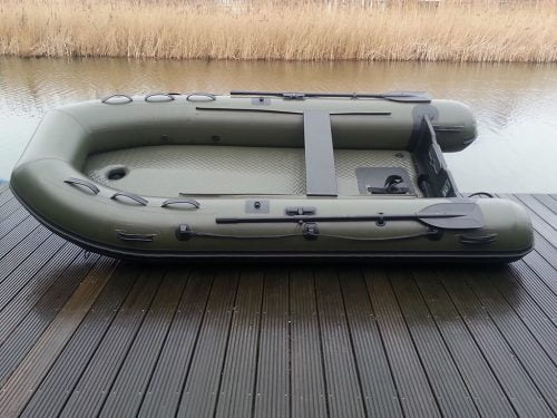 Raptor boats 470 X-Wide Dark Camou rubberboot