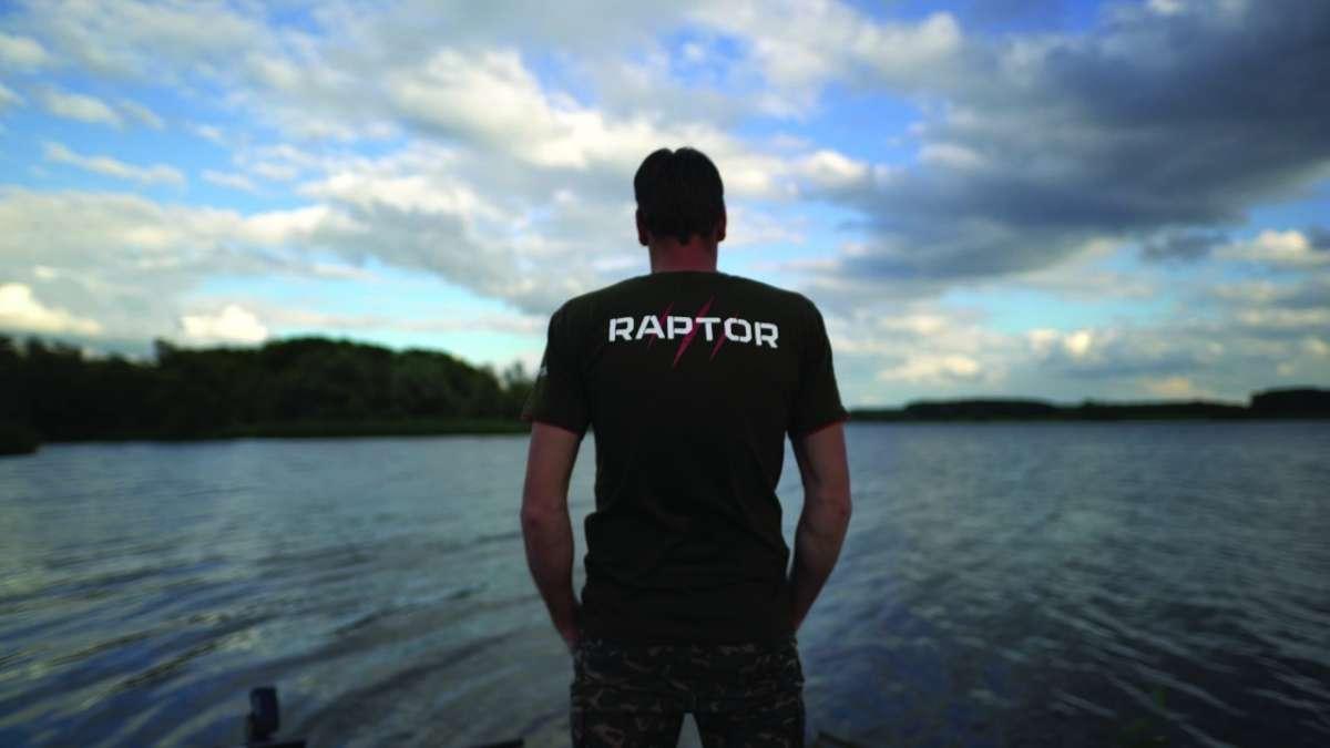 Raptor shirt zwart