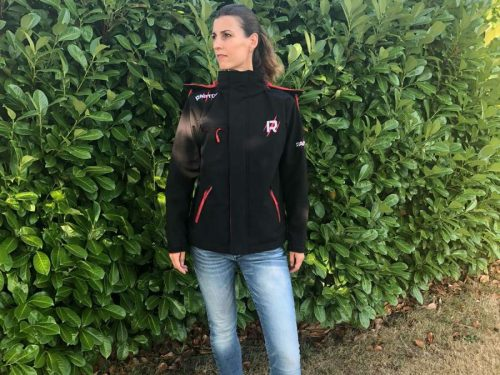 Raptor kleding softshell jacket zwart