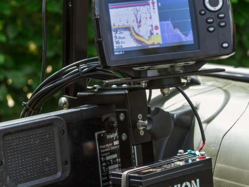 Raptor dlx transducer holder