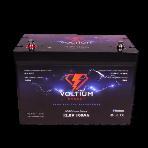 Voltium Energy LiFePO4 Smart battery 128V 100Ah