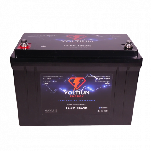 Voltium Energy LiFePO4 Smart battery 128V 125Ah