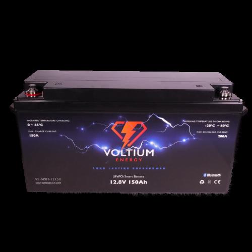 Voltium Energy LiFePO4 Smart battery 128V 150Ah