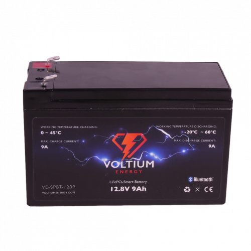 Voltium Energy LiFePO4 Smart battery 128V 9Ah